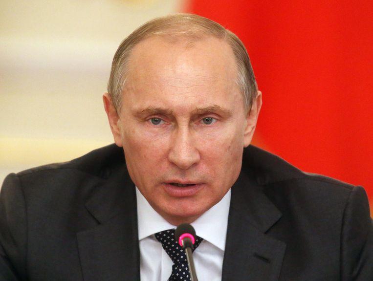 De Russische president Poetin Beeld getty