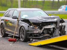 Automobilisten negeren afzetting bij file op A50 bij Apeldoorn