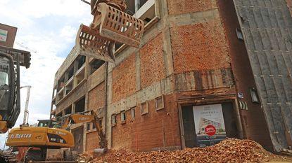 Gevel van brouwerij Ginder Ale verdwijnt onder sloophamer