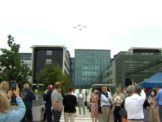 Formatieteam The Victors trakteert zorgpersoneel op luchtshow
