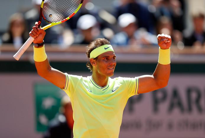 Roland Garros Handdoek.Nadal Voor Twaalfde Keer Naar Finale Roland Garros Na Zege