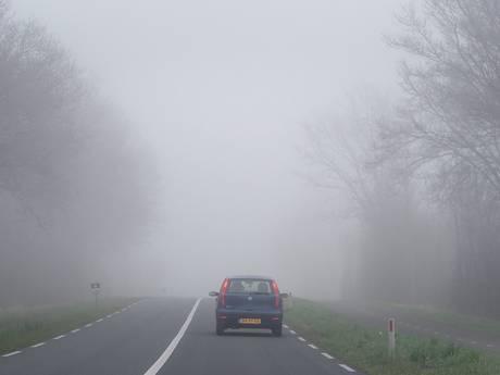 Code geel voor Zuid-Holland: dichte mist op komst