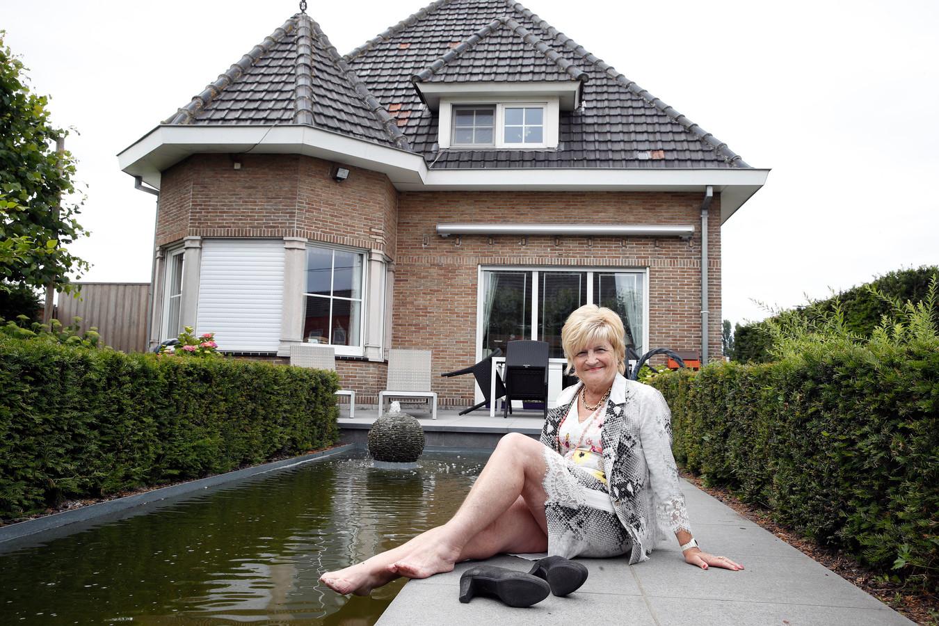 Het ouderlijke huis van Marina Wally.