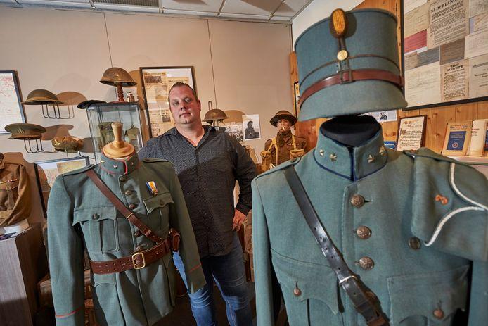 Rudy Huetink is verzamelaar van oorlogsmateriaal uit 1940-45 en maakt zijn jongensdroom waar door alles wat hij in 12 jaar heeft verzameld tentoon te stellen.