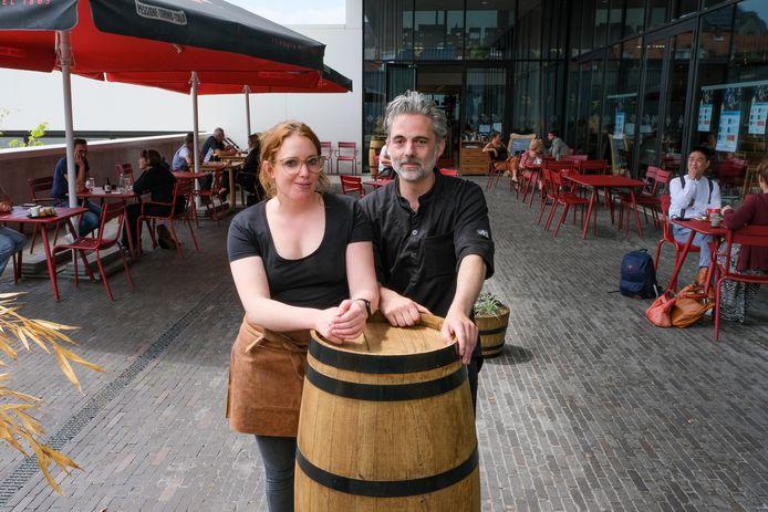 Jan Cludts en Delphine Goudesone openden begin mei Eetcafé de Factorij in Zaventem.