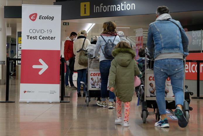 Terugkerende reizigers op Brussels Airport. (Beeld ter illustratie)