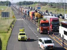 Wegwerk aan A50 rond Apeldoorn nadert einde met afsluitingen en hinder in weekenden