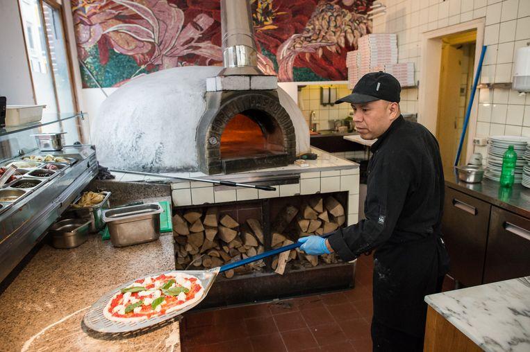 Pizzeria La Perla Beeld Mats van Soolingen