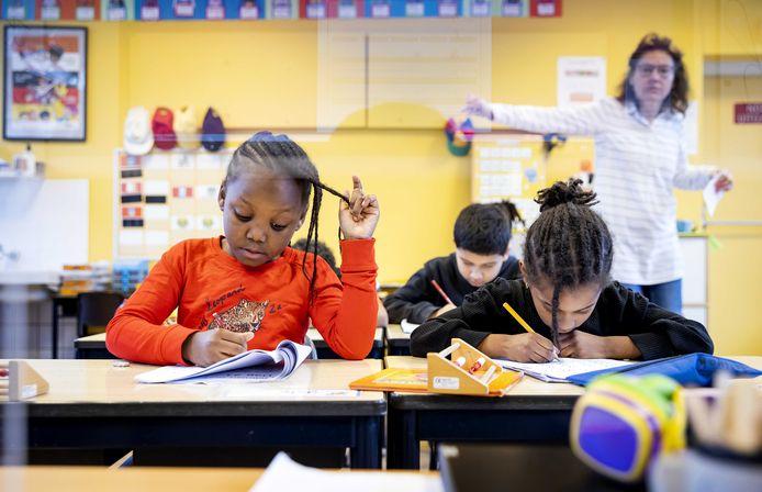 Voor een leerling in het basisonderwijs werd in 2020 zo'n 5.700 euro uitgegeven.