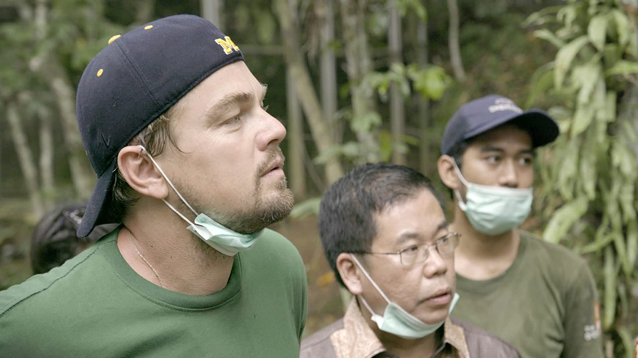 Leonardo DiCaprio in 'Before the Flood'. Beeld National Geographic Documentary Films