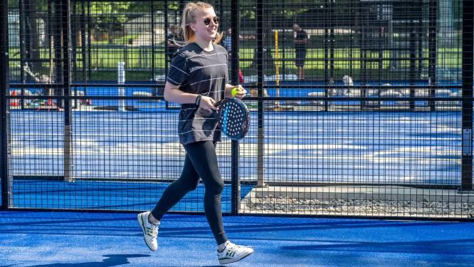 Voortaan kan je padel spelen in sportcomplex Osbroek