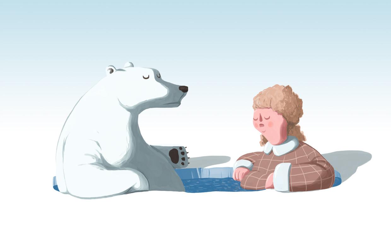 Een typisch Finse bezigheid waar sisu in de praktijk wordt gebracht, is 'avantouinti', oftewel winterzwemmen. Beeld Matteo Bal