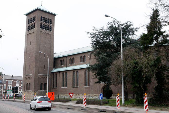 De Heilig Hartkerk van Tienen.