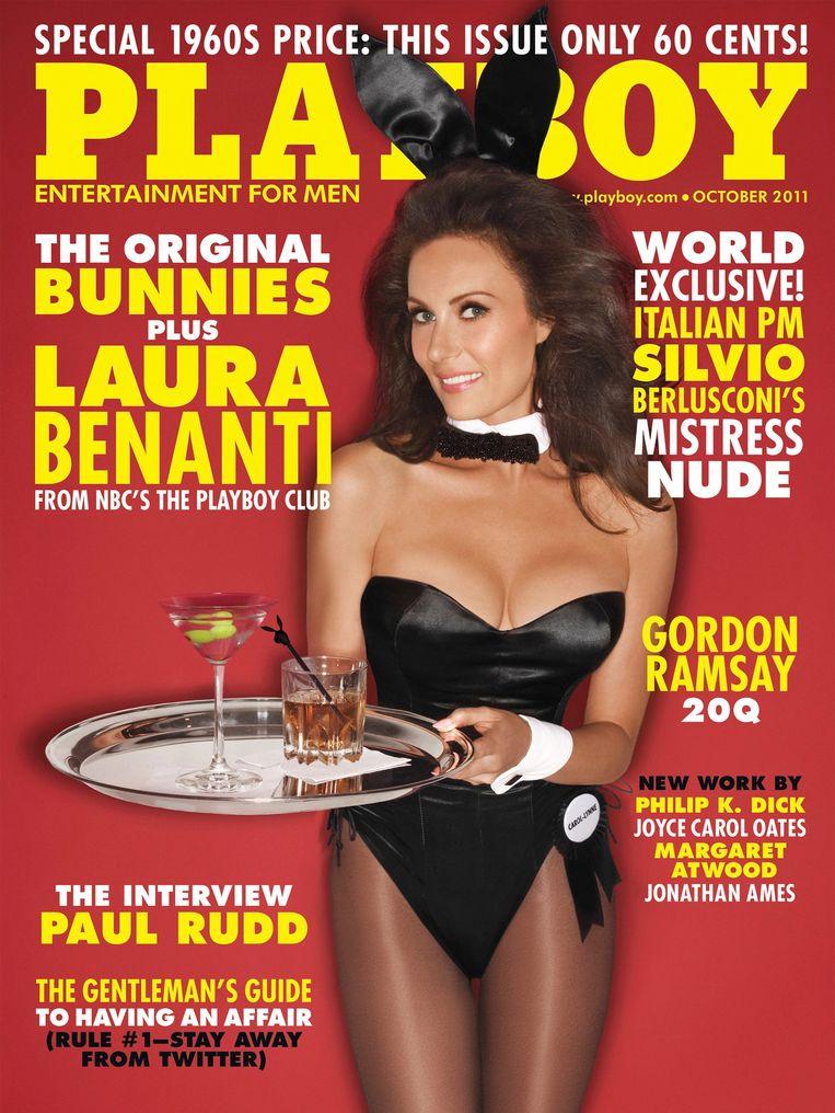 Een van de covers van Playboy in 2011. Beeld REUTERS