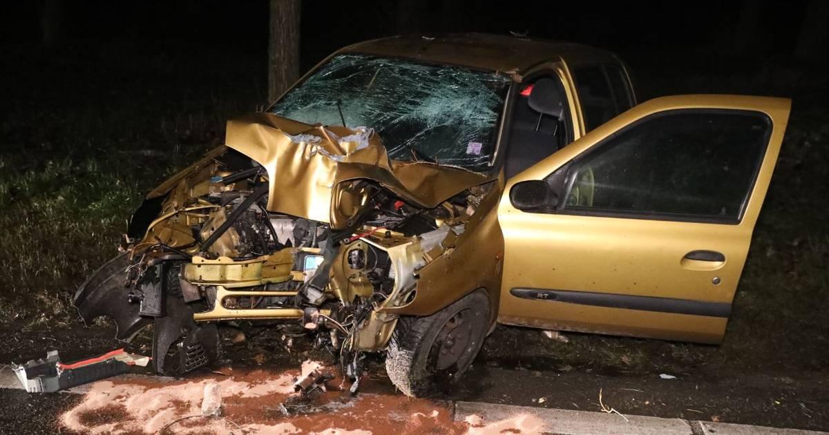 Automobilist gewond door botsing op A15 bij Bemmel.