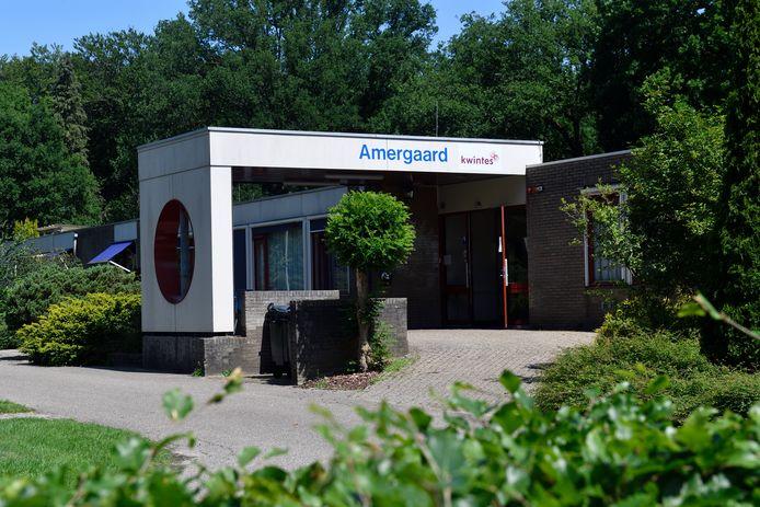 De Amergaard werd in 2016 geopend als tijdelijke voorziening, maar is volgens wethouder Menno Tigelaar (ChristenUnie, Zorg) nog altijd hard nodig.