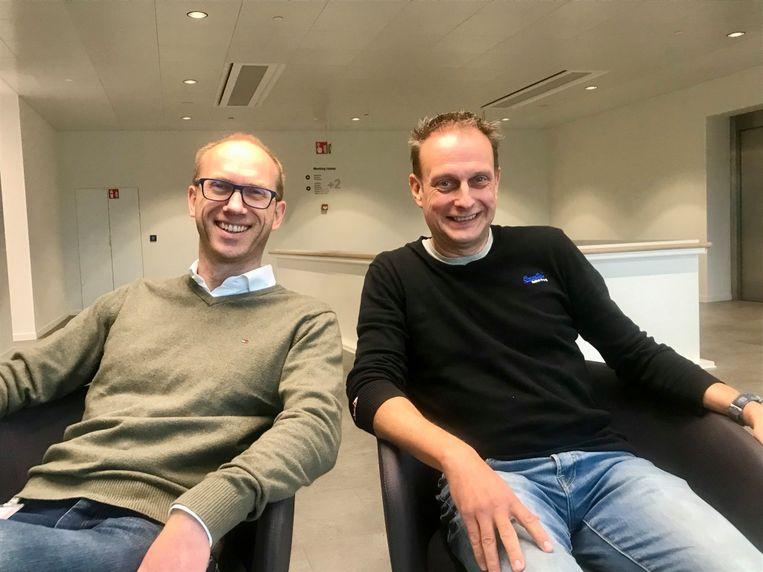 Wim Debreuck en Wout Neirynck, oprichters van Debreuck-Neirynck.