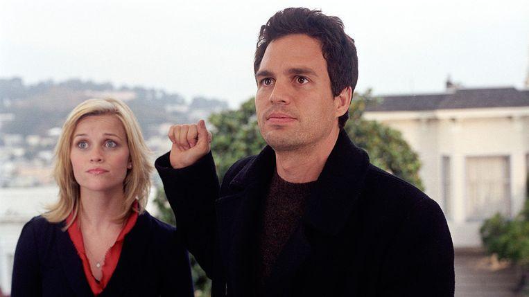 Reese Witherspoon en Mark Ruffalo in Just Like Heaven van Mark Waters. Beeld
