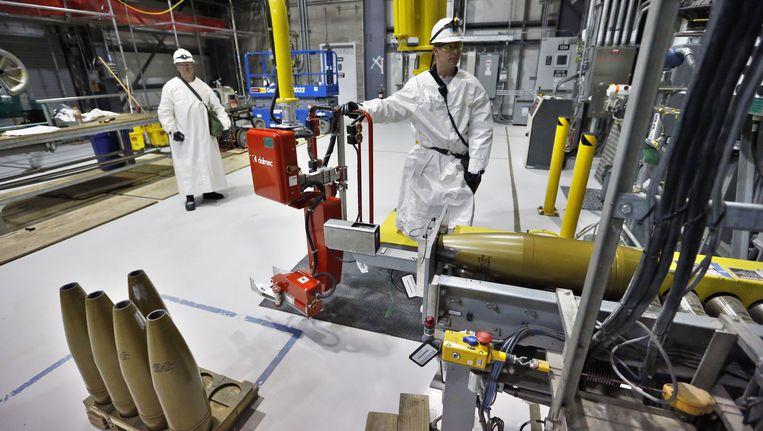 Het Pueblo Chemical Depot in Colorado. Beeld ap