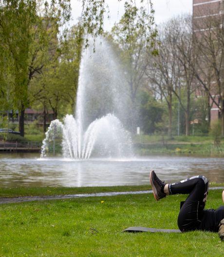 Iconische fontein was stuk na vijftig jaar trouwe dienst, maar nu spuit-ie weer