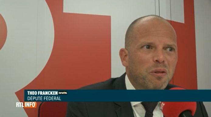 Theo Francken was deze ochtend te gast op radiozender Bel RTL.