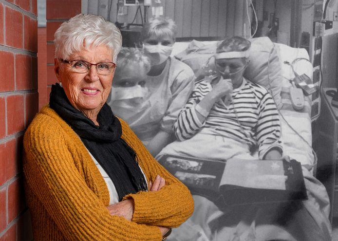 Liny heeft al 33 jaar een donorhart. Ze kreeg een harttransplantatie in Canada.