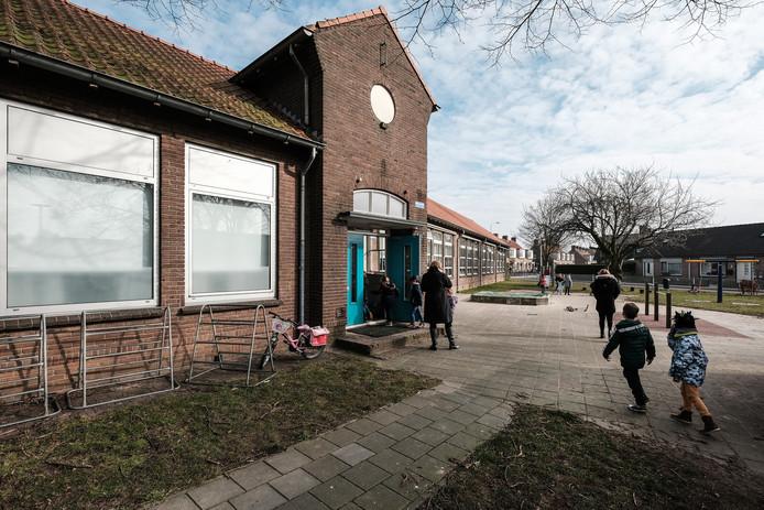De Willibrordusschool in Spijk.
