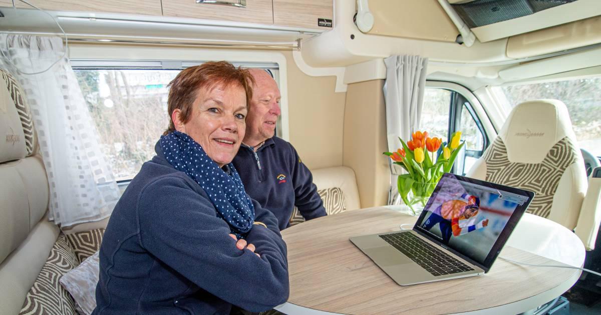 Moeder volgt wereldkampioen Krol vanuit de camper: 'Soms denk ik: joh, ga een beroep kiezen' - AD.nl
