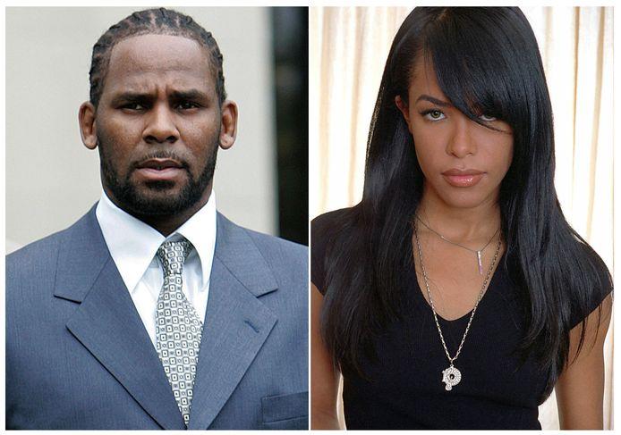 R. Kelly et Aaliyah