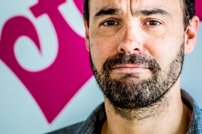Initiatiefnemer Bart Nijman van GeenStijl.