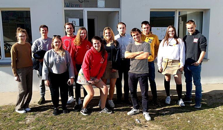 De nieuwe jeugdraad van Middelkerke