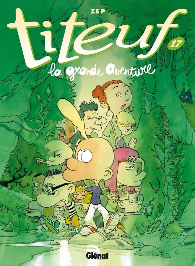"""La grande aventure"" de Titeuf."