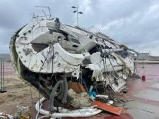 Tegen Scheveningse Pier gecrasht zeiljacht bijzonder luxe: 'Om maanden op zee te kunnen blijven'