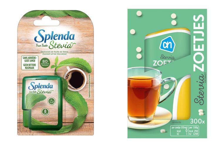 Splenda stevia - Stevia zoetjes AH Beeld rv