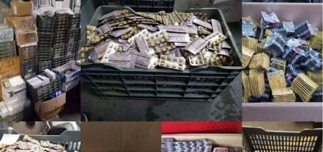 Politie doet opvallende vangst: 266.000 erectiepillen onderschept