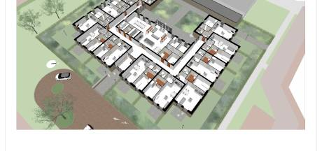 Twaalf appartementen voor verstandelijk beperkten in Borne