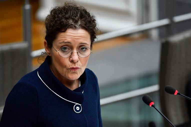 Minister van Energie Lydia Peeters (Open Vld).