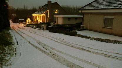 Daar is de eerste sneeuw: Leuvense ontwaakt onder wit laagje