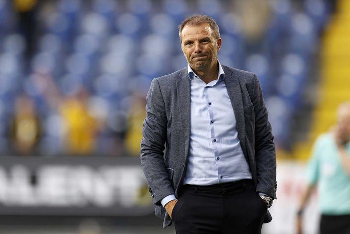Het is voor Maurice Steijn einde oefening in Breda.