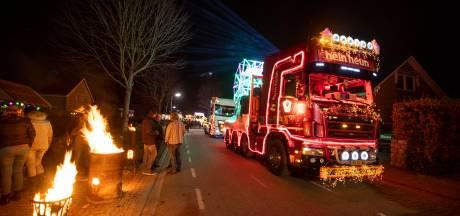 Wegen in Geerdijk afgesloten voor verlichte truckrit