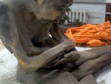 Mummie in lotushouding aangetroffen in Mongolië