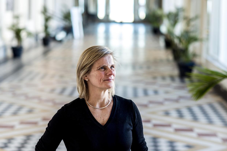 VUB-rector Caroline Pauwels Beeld Tine Schoemaker