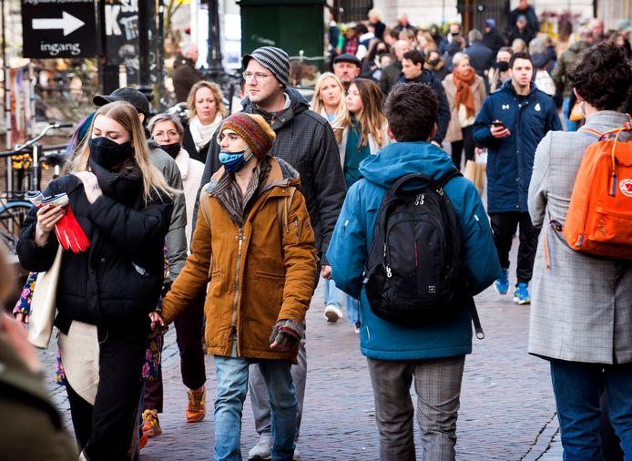 Het was vandaag druk in het Utrechtse centrum, maar de situatie was volgens de gemeente 'beheersbaar'.
