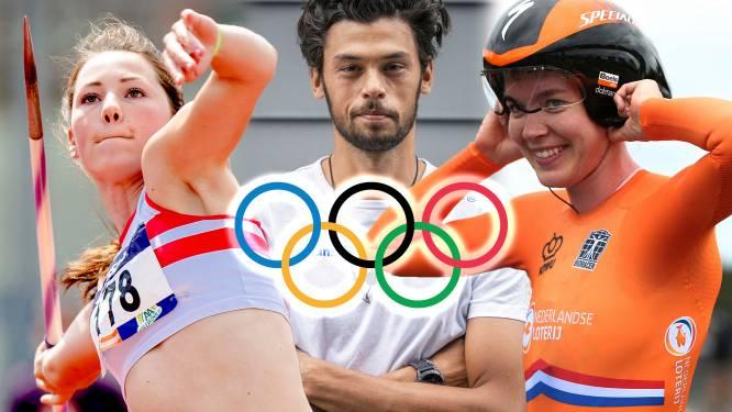 Deze vijftien sporters uit Oost-Nederland doen mee aan de Olympische Spelen in Tokio