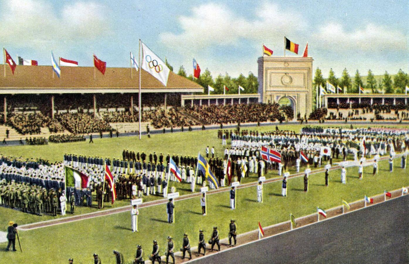 Openingsceremonie Antwerpen.