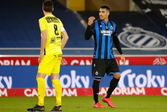 Nabil Dirar maakte in de tweede helft zijn wederoptreden voor Club.