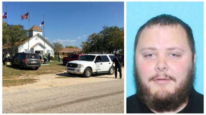 Schutter kerk Texas koos kerk wellicht omdat schoonmoeder daar kwam en schoot oma van zijn vrouw dood