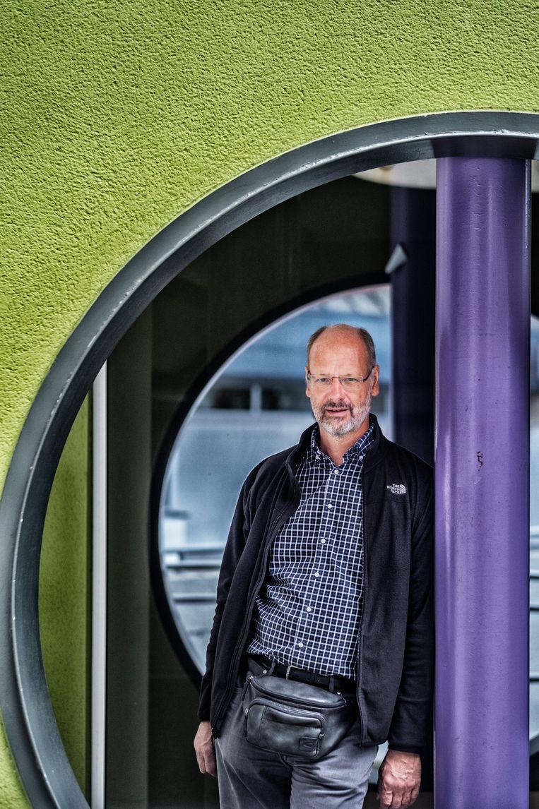 Klimaatwetenschapper Philippe Huybrechts: 'In de praktijk zie je dat de coronapandemie in 2020 wellicht voor tien procent minder uitstoot zal zorgen.' Beeld Tim Dirven