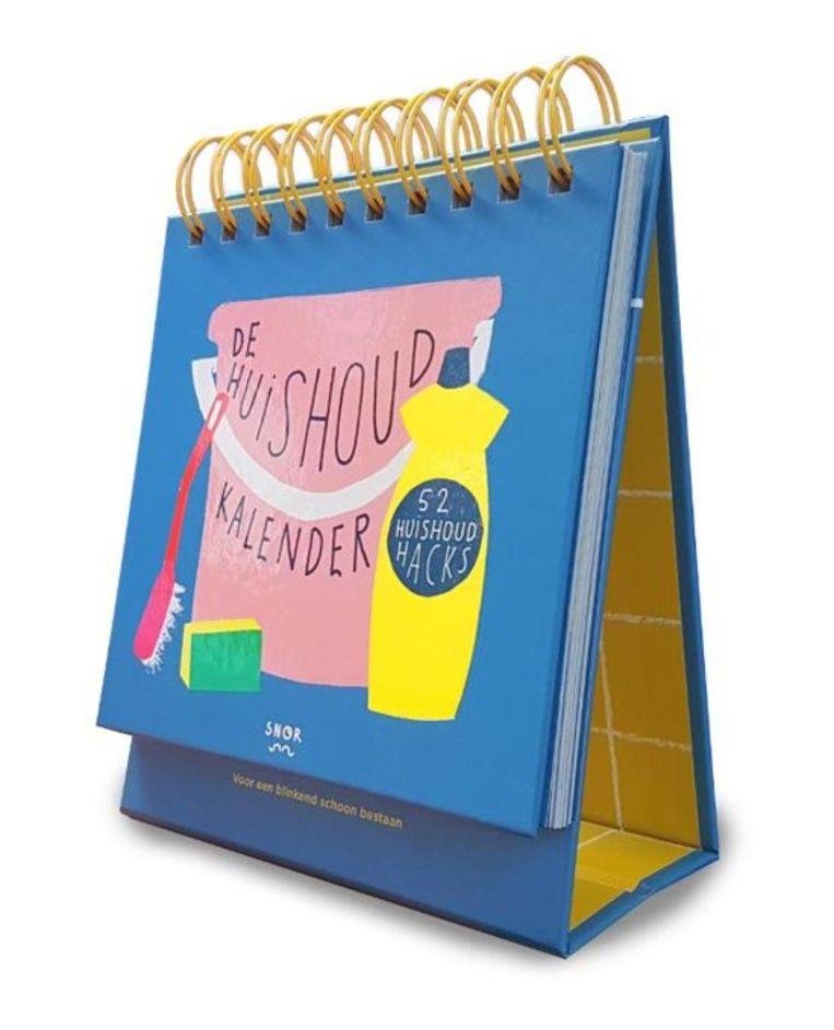 'De Huishoudkalender'. Inez van Eijk. Uitgeverij Snor. € 14,99