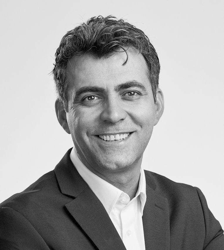 Sezgin Cihangir is doctor in de sociale psychologie, directeur van het Nederlands Mathematisch Instituut en lid van Team Red het Onderwijs. Beeld Emmely van Mierlo
